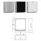 FRANKE EXOS600X falra szerelhető papírtörlő adagoló