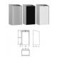 FARNKE EXOS605X hulladékgyűjtő