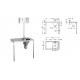 G22025L Ágytálkiöntő és beépített tárolófelület