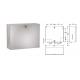 FRANKE RODX601  papírtörölköző és szappanadagoló kombináció